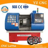 다이아몬드 절단을%s 가진 CNC 선반 기계를 만드는 Wrc22 바퀴 변죽