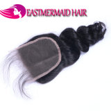 Slacciare la chiusura brasiliana del merletto dei capelli umani dell'onda