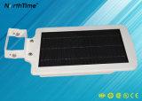 luz de rua 6W solar completa morna fresca energy-saving