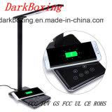 Chargeur de téléphone sans fil Quick3.0 d'urgence avec aucune table de la lampe stroboscopique
