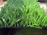 Faseriges Garn-professionelles künstliches Gras für Fußball