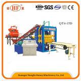 (Qt4-15D)連結およびペーバーのための機械か煉瓦作成機械を作るセメントの空のブロック