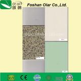 Materiale da costruzione della fibra della scheda leggera del cemento per la decorazione