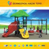 Kids poco costoso Swing e Slide per il parco di divertimenti (HAT-11)