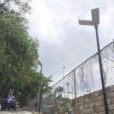 Calle la luz solar barato en el exterior con sensor de movimiento de la batería de litio