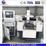 Metal profissional gravura de moagem de CNC Máquina de roteador de perfuração 6060