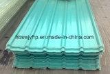 Feuille de fibre de verre de PRF les panneaux du toit de tuiles S