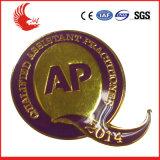 Emblema feito sob encomenda relativo à promoção da alta qualidade do metal