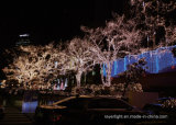 Artificial de interior al aire libre luces de la decoración del árbol de navidad