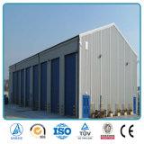 Prefab структура здания стальной рамки раздела h стальная для мастерской