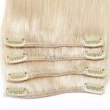 Virgen Remy derechos Clip Hair Extension
