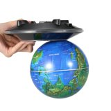 """6 """" LED que flotan la decoración de escritorio excelente del vector de Tellurion de la decoración del globo impresionante de la levitación magnética del globo de Maglev"""