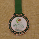 에폭시 덮개를 가진 주문 학교 포상 금속 메달