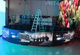P3 interior circular de color/cilindro LED (diámetro de 6m/2m)