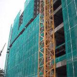 Filet de sécurité en nylon d'échafaudage de construction de HDPE vert de Retardent d'incendie