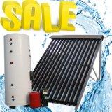 Divida o tubo de depressão do tubo de calor anticongelante pressurizado coletor solar aquecedor solar de água