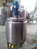 Acero inoxidable sanitario depósito mezclador para farmacéutica química