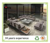 Venta caliente al aire libre moderno sofá con cojines de espuma seca rápido