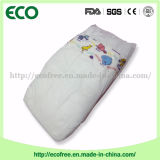 Um tecido barato descartável do bebê do OEM Peaudouce da classe com a folha traseira respirável
