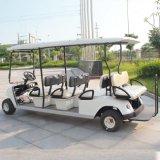 8 Lugares Electric Golf Kart com certificado CE China (DG-C6+2)