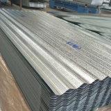 Le matériel en acier galvanisé acier ondulé tôle de toit dans la bobine
