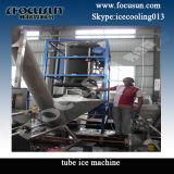 Máquina de gelo do tubo com espessura ajustável do tubo do gelo
