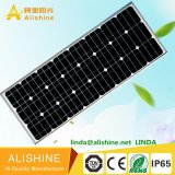 Luz de calle solar del LED de la iluminación de la venta al por mayor al aire libre LED de la fábrica con el mono panel solar