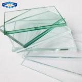 磨かれた平らな端が付いている12mmの明確な緩和されたガラス