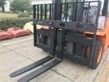 Nueva carretilla elevadora diesel de elevación de la máquina 5t 7t con los neumáticos dobles