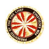 cadeau de promotion d'estampillage personnalisé Sport Gold Coin coin titulaire trousseau