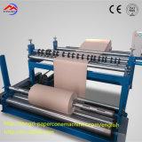 Face simple collant le tube de papier spiralé semi-automatique faisant la machine
