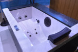 Autoportante En Acrylique Blanc Massage Bains Chambre Tub (S201)