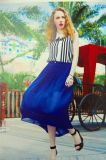 Nuevo estilo Venta caliente niños ropa elegante vestido falda larga