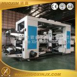 4 cores da capa de papel da máquina de impressão flexográfica