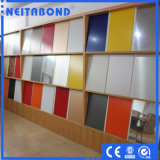 Oem Aluminum Composite panel sand-yielded panel for Curtain barrier