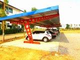 Estructura de acero para el estacionamiento del coche