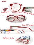 최신 Fashion Round Frame 및 Colorful Temple Ladies Reading Glasses (WRP507257)