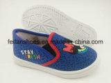 子供の漫画の注入のズック靴のスポーツの履物の靴
