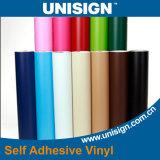 Het hoge Glanzende Zelfklevende Vinyl van de Plotter van de Kleur Scherpe