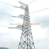 ISO9001 de verklaarde Toren van het Staal van de Transmissie van de Macht Tubulaire van Fabriek