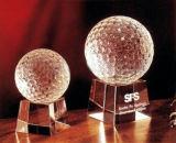 De Toekenning van de Trofee van het Kristal van het golf met Verwelkomd OEM