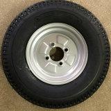 Gummireifen/Rad/Reifen für EU-Markt mit Puder-überzogener weißer Felge