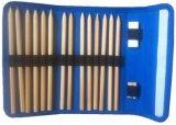 Lápis de borracha com lápis colorido e lápis com saco