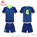 Le football en bonne santé Jersey Chine (HL00006) de sublimation de dri de vêtements de sport d'OEM de Healong