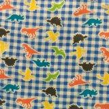 ткань 100%Cotton напечатанная фланелью для повелительниц Sleepwears