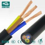 450V/750V de alimentación Cable eléctrico flexible de caucho de cobre de 5 núcleos aislados de cable flexible de 4 mm.