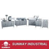 Tubo inconsútil del PE que hace la máquina--Sunway
