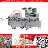 Máquina de embalagem de alimentação manual do biscoito do bloco do fluxo