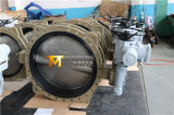 Электрический сработанный раздел u служил фланцем клапан-бабочка соединения с ISO одобренным Wras Ce