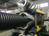 Рр HDPE двойные стенки гофрированную трубу производственной линии / Профиль машины